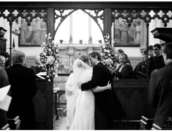 Waltham St Lawrence Parish Church, near Reading Wedding Photography - Sarah & Andy