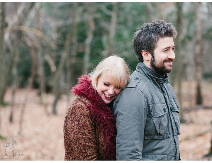 Rebecca & Dave - Berkhamsted Engagement Photography