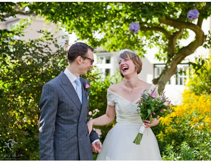 Backgarden Wedding, Ware, Hertfordshire Wedding Photography - Charlotte & Woody