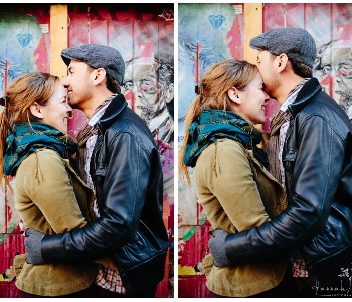 Rhiannon & Jon - Brick Lane, East London Engagement Photography