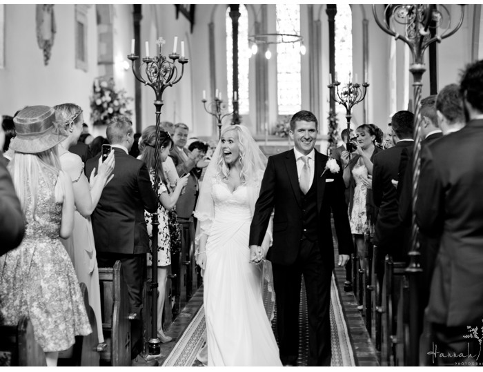 Godmersham Church & Godmersham House, Canterbury, Kent Wedding Photography - Abbie & Ed