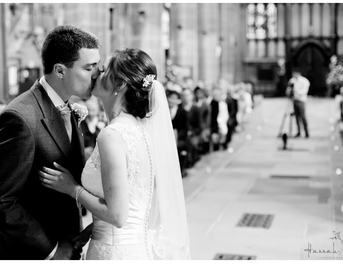 St Mary's Church & Risley Hall Hotel, Nottingham Wedding Photography - Ailsa & Matt