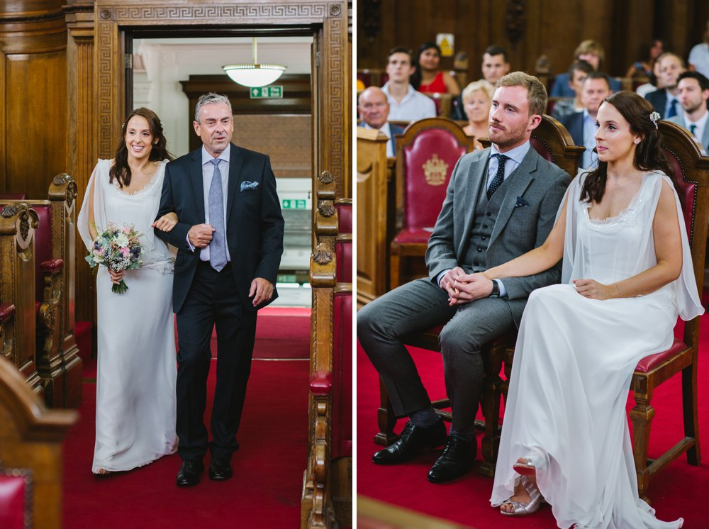 Islington Town Hall London Wedding Photography (6)