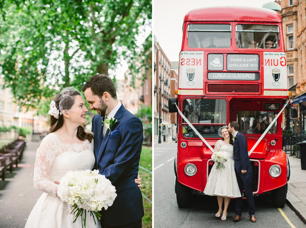 Mayfair Library London Wedding Photography (33)