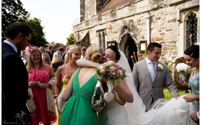 Peelings Manor Barns & St Peter & St Paul Church, East Sussex Wedding Photography – Helen & Tom