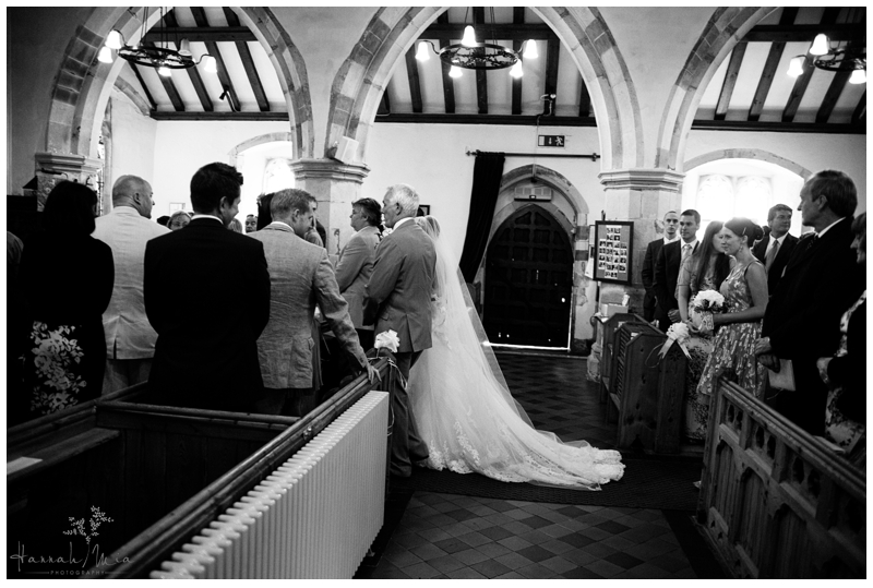 Helen and Tom Wedding Photography, St Peter and St Paul Church, East Sussex