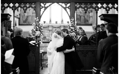 Waltham St Lawrence Parish Church, near Reading Wedding Photography – Sarah & Andy