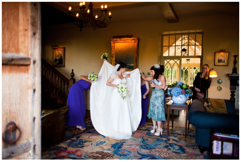Dewsall Court Herefordshire Wedding Photography (116)