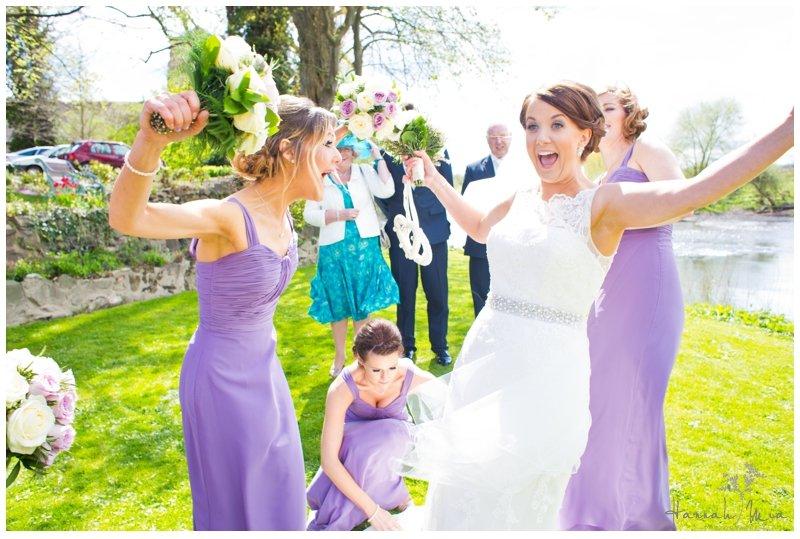 Berrington Church & Mytton & Mermaid Hotel, Atcham, Shrewsbury Wedding Photography – Heather & Jamie
