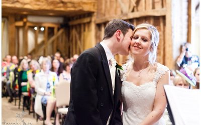 Tythe Barn, Tewin Bury Farm Hotel, Hertfordshire Wedding Photography – Angela & Greg