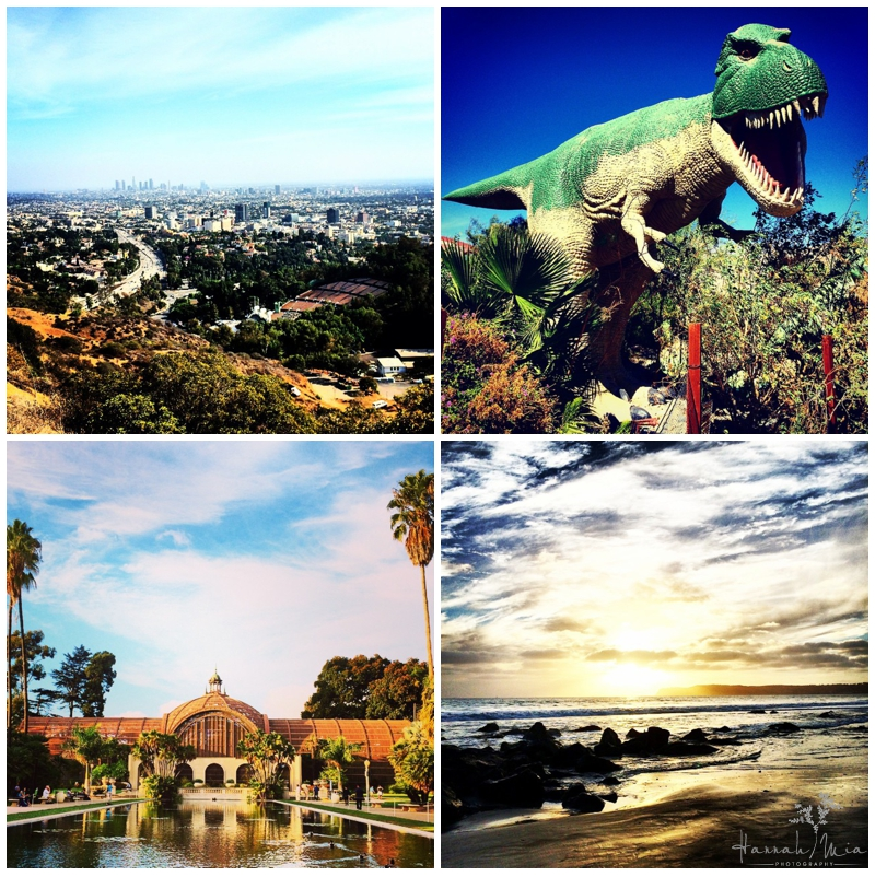 Los Angeles & San Diego California