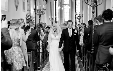 Godmersham Church & Godmersham House, Canterbury, Kent Wedding Photography – Abbie & Ed