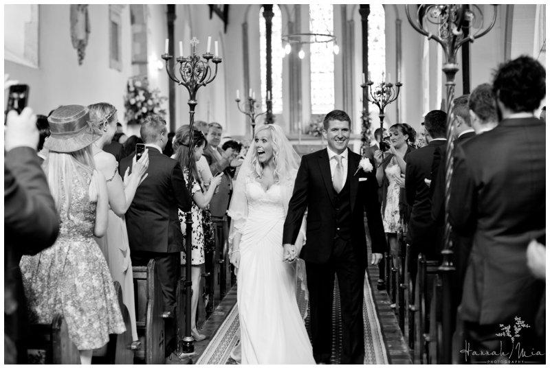 Godmersham Church & Godmersham House, Canterbury, Kent Wedding Photography – Abbie & Ed