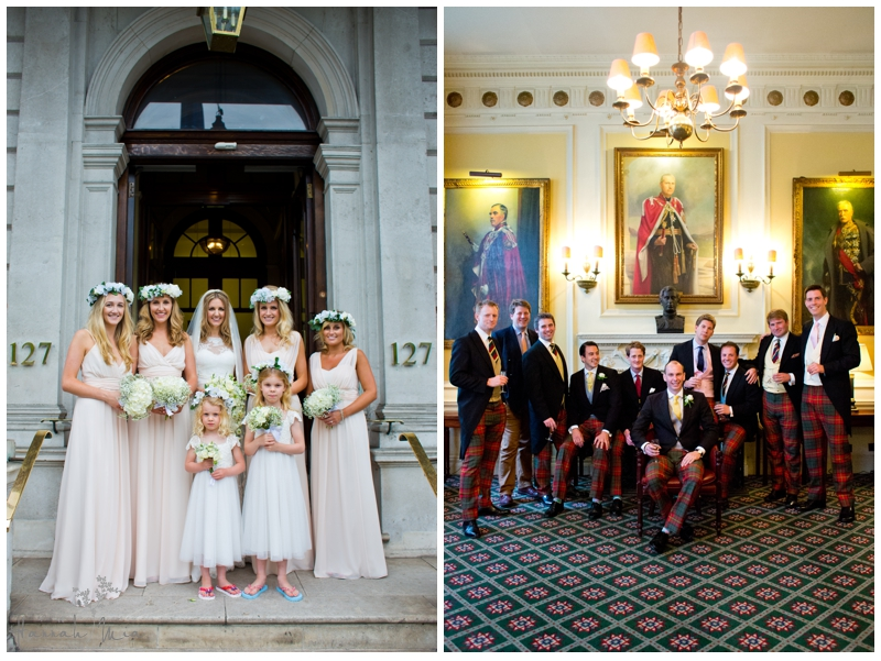 Cavalry and Guards Club London Wedding Photography (28)
