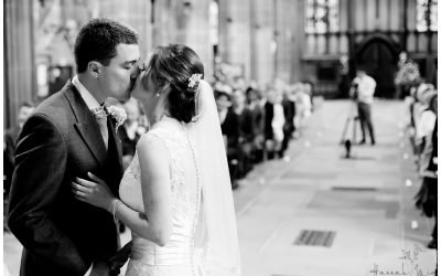 St Mary's Church & Risley Hall Hotel, Nottingham Wedding Photography – Ailsa & Matt