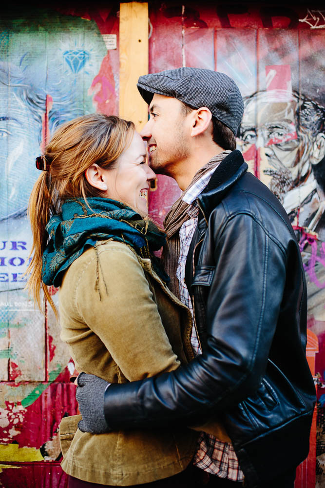 Brick Lane London Engagement Photography
