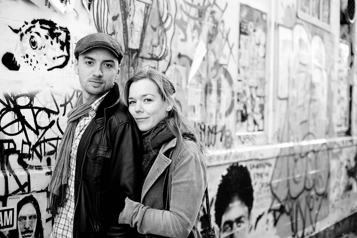 Brick Lane London Engagement Photography