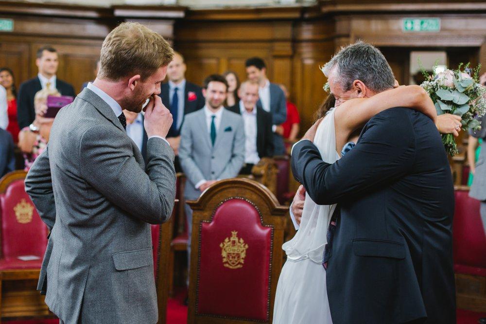 Islington Town Hall London Wedding Photography (8)