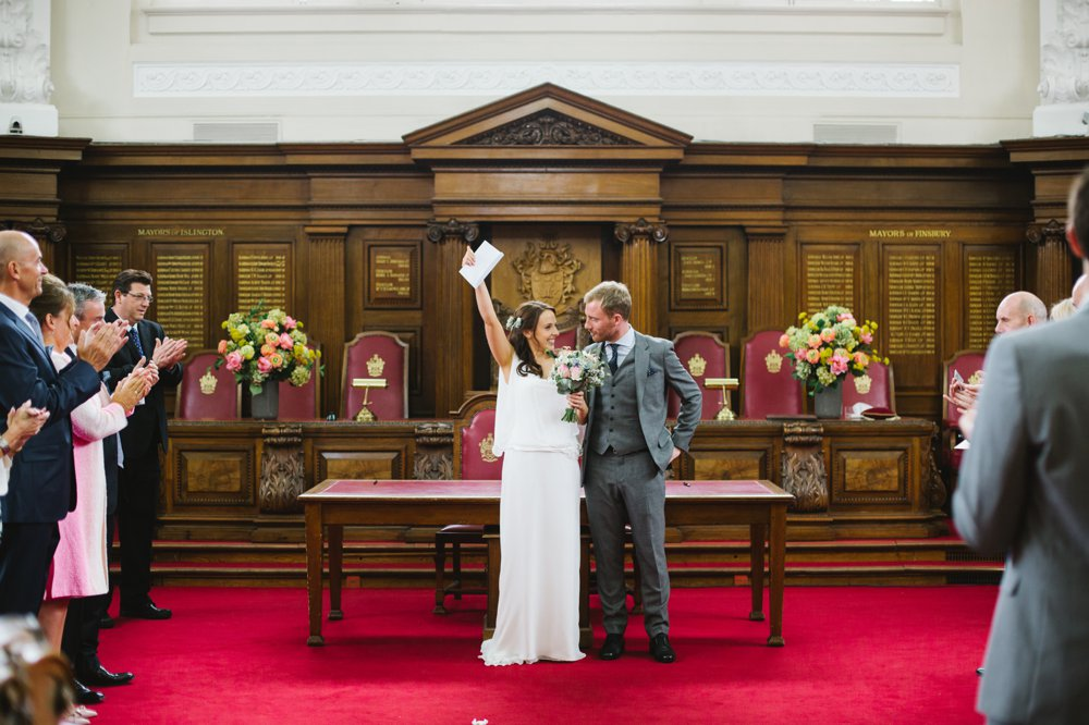 Islington Town Hall London Wedding Photography (12)