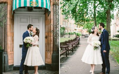 Mayfair Library & The Lodge, East Dulwich Tavern, London Wedding Photography – Marie & Liam