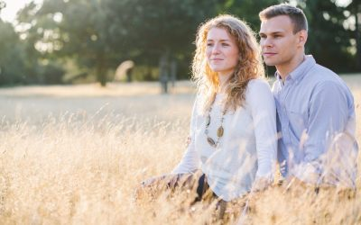 Richmond Park London Engagement Photography – Laura & Tim