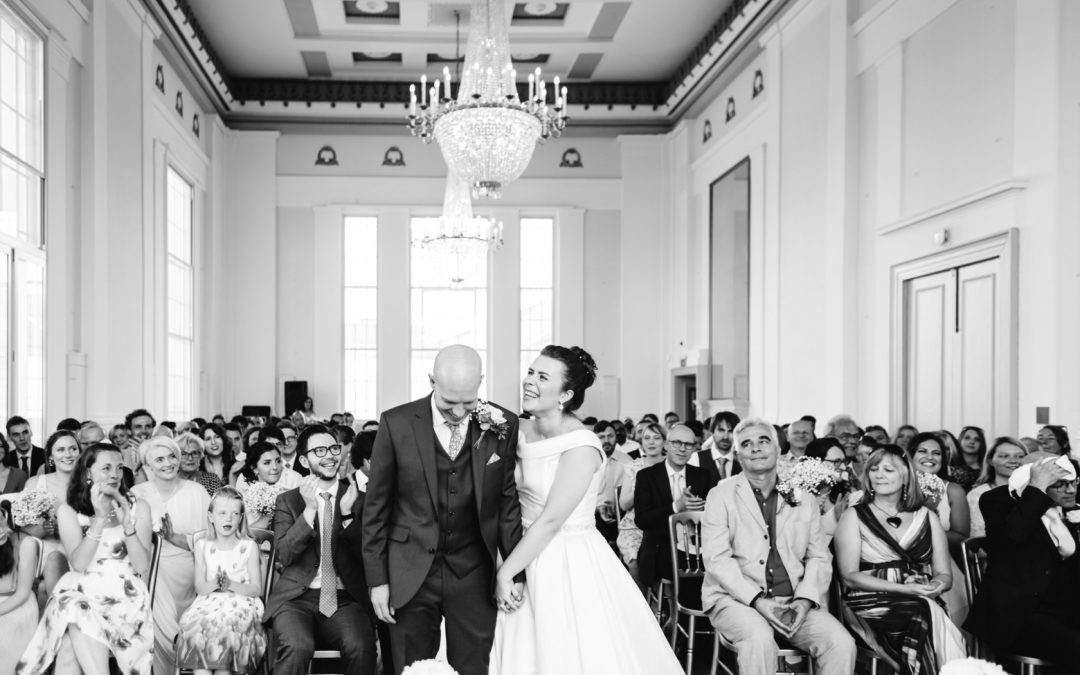 St Albans Museum + Gallery & Ye Olde Fighting Cocks, Hertfordshire Wedding Photographer – Kate & Gary