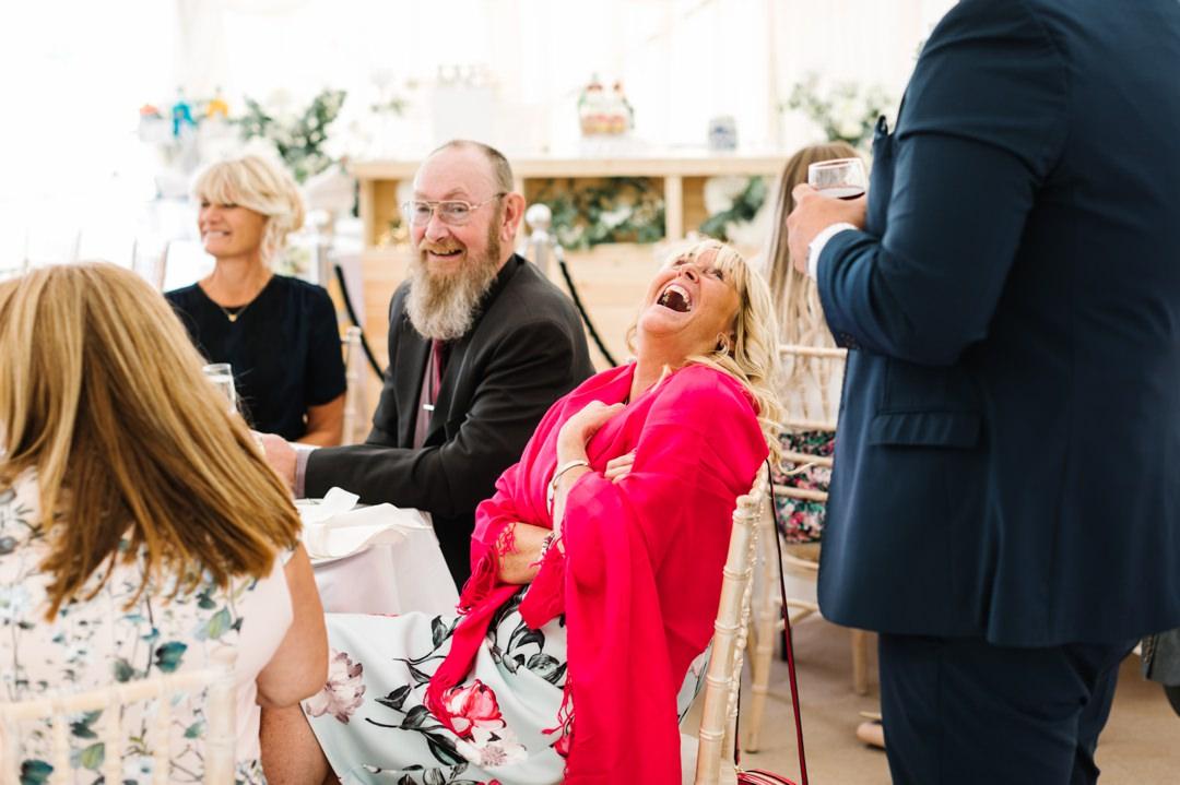 Dunstable Bedfordshire Wedding Photographer back garden wedding